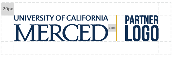 UC Merced Co-branded Logo | How-to